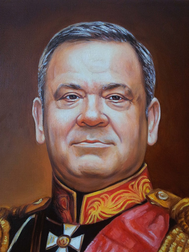 Портрет маслом на холсте в Мурманске