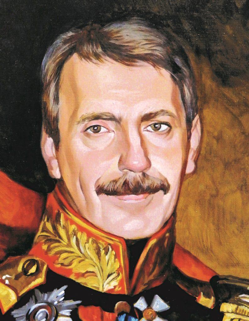 портрет маслом по фото Мурманск