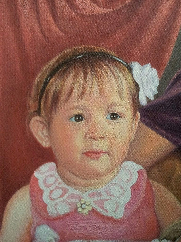 Портрет маслом семейный Мурманск