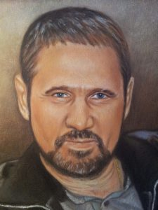 Заказать портрет пастелью другу