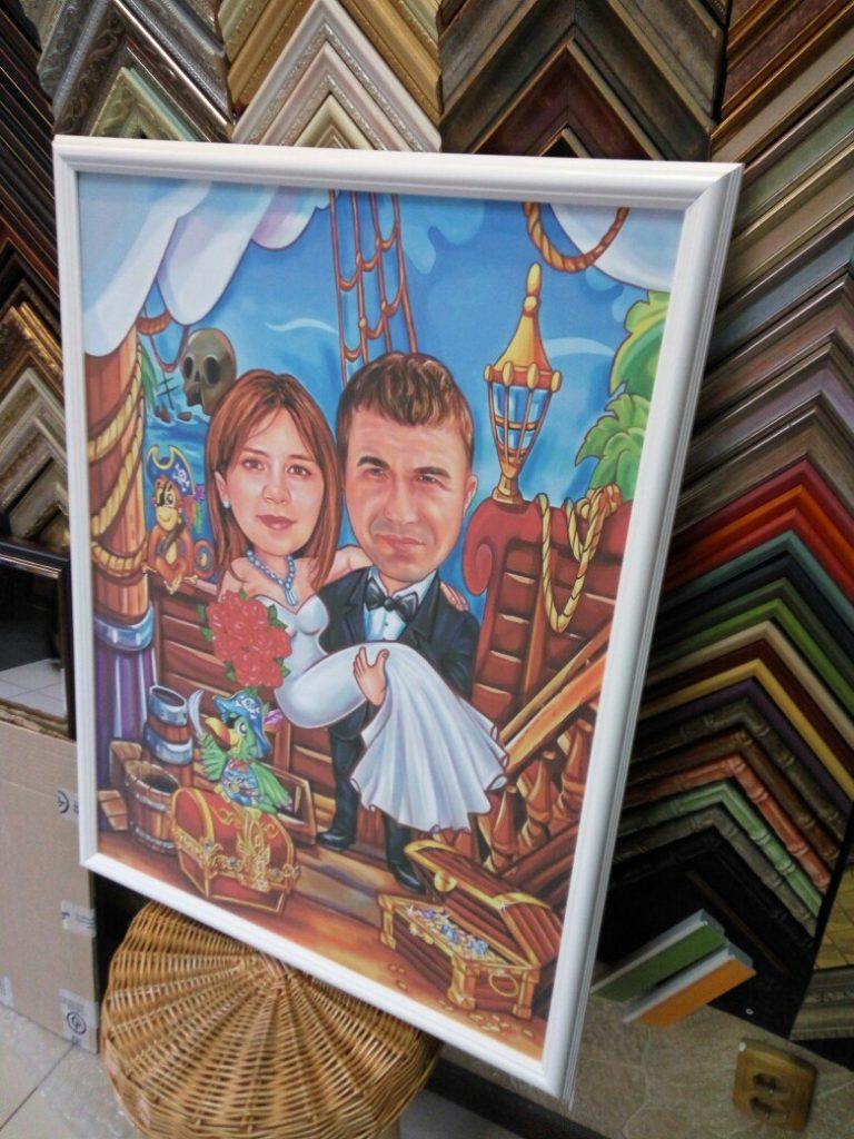 шарж по фото на заказ в Мурманске