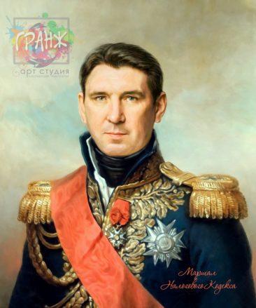 Портрет по фото на холсте в подарок мужчине Мурманск