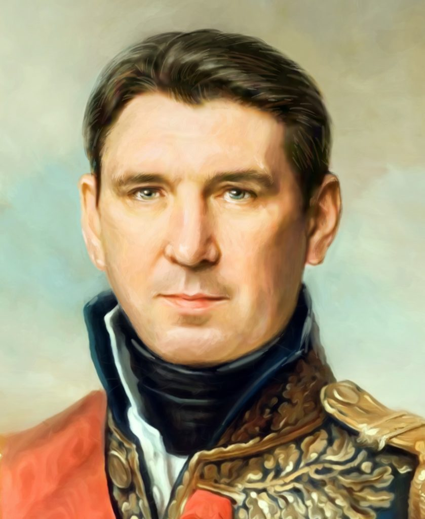 портрет по фото на холсте в подарок Мурманск