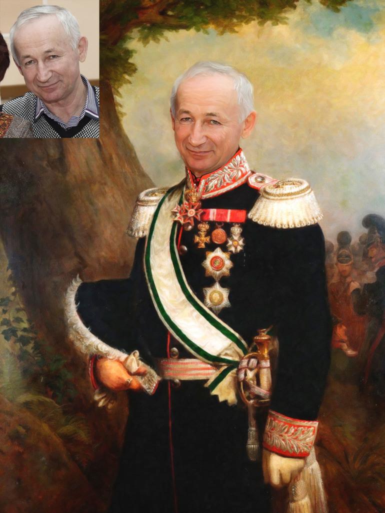 Где заказать исторический портрет по фото на холсте в Мурманске?